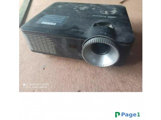 Projector For Sale With White Sheet