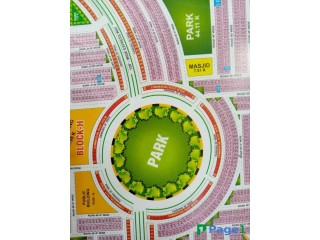 5-Marla Plot For Sale in Bharia Orchard Lahore